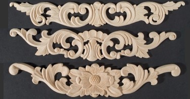 Carved Appliques